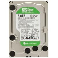 Жесткий диск HDD 3Tb Western Digital Green WD30EZRX