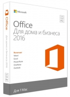 Microsoft Office Mac Home and Business 2016, 1Mac, Электронный ключ