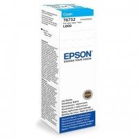 Чернила EPSON C13T67324A L800 Cyan