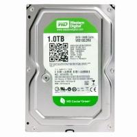 Жесткий диск HDD 1Tb Western Digital Green WD10EZRX