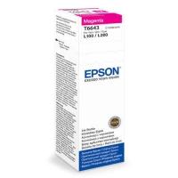 Чернила EPSON C13T66434A L100 Magenta