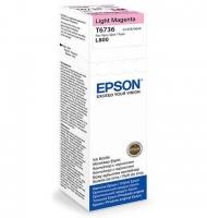 Чернила EPSON C13T67364A L800 Light Magenta
