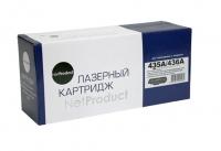 Картридж CB435A/ CB436A (NetProduct)