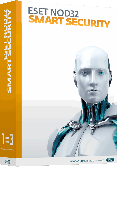 Антивирус ESET NOD32 Smart Security, 12 мес., 3ПК