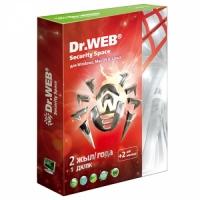 Антивирус Dr. Web Security Space SILVER, 24 мес., 1 ПК, +2 мес. подарок