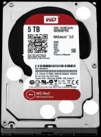 Жесткий диск для NAS систем HDD 5Tb Western Digital RED