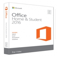 Microsoft Office Mac Home and Student 2016, 1Mac, Электронный ключ