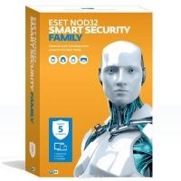 Антивирус ESET NOD32 Smart Security Family – универсальная лицензия на 1 год на 5 устройств