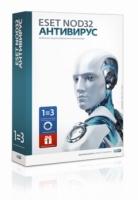 Антивирус ESET NOD32, 3 ПК, 12 мес, BOX