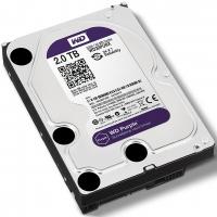 Жесткий диск для видеонаблюдения HDD 2 Tb Western Digital Purple WD20PURX