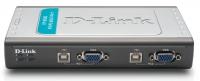 Data switch KVM D-Link DKVM-4U