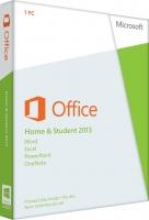 Microsoft Office Home and Student 2013, 1ПК, DVD, BOX